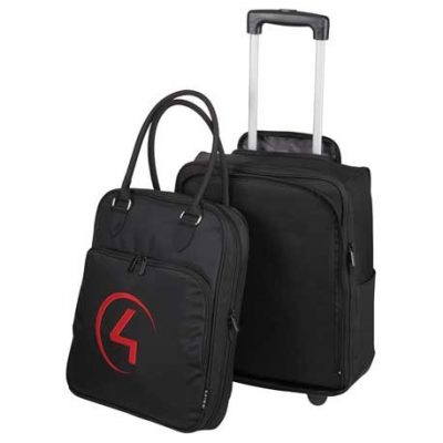 Luxe 2-in-1 Wheeled Travel Tote